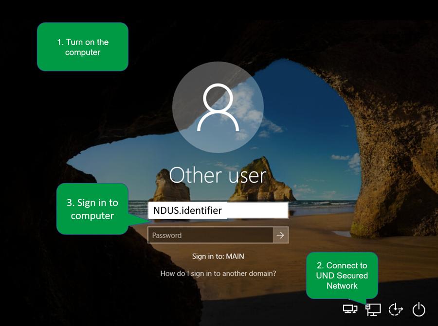 Steps to create Windows profile.