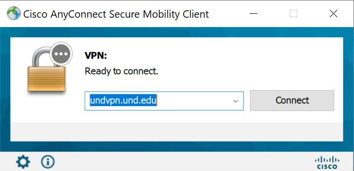 Enter undvpn.und.edu