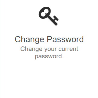 Once logged in, select theChange Passwordbutton.