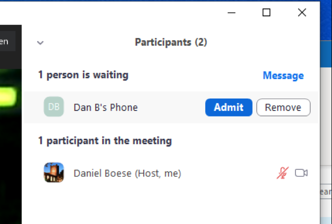 zoom in meeting add participants window