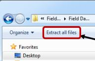 Extract all files to your computer