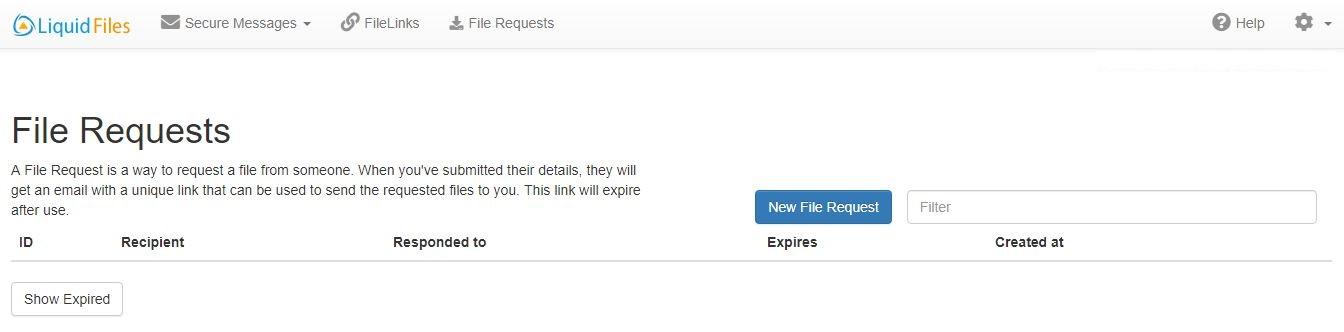 File Requests