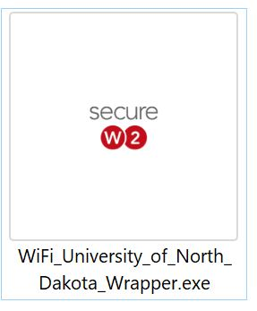 This is what the SecureW2 app icon looks like.