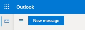 To send a new email, select the+ Newin thetop menu.
