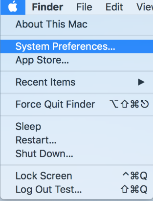 On your Mac, choose Apple menu>System Preferences, then click Security & Privacy.