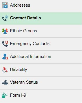 Now, on the left navigation, selectContact Details.