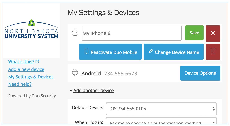 Change Device Name