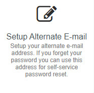 Once logged in, select theChange Passwordlink.