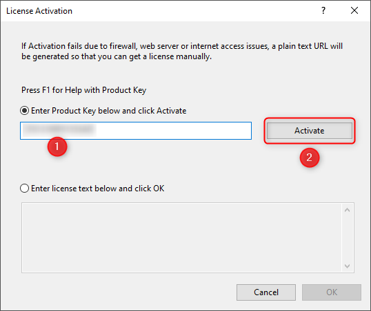 Once Origin loads, you will be prompted to enter the Product Key that you received via email. Copy and paste it into the product key section, and click the Activatebutton.