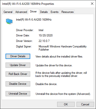 If the date changed or the driver version went up,you have successfully updated your driver.