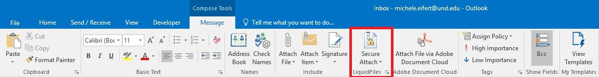 Click secure attach